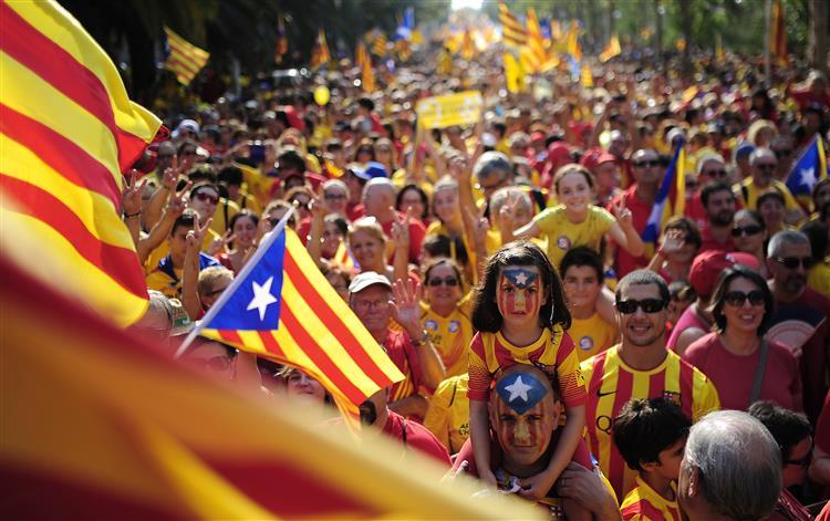 Resultado de imagem para referendo catalunha