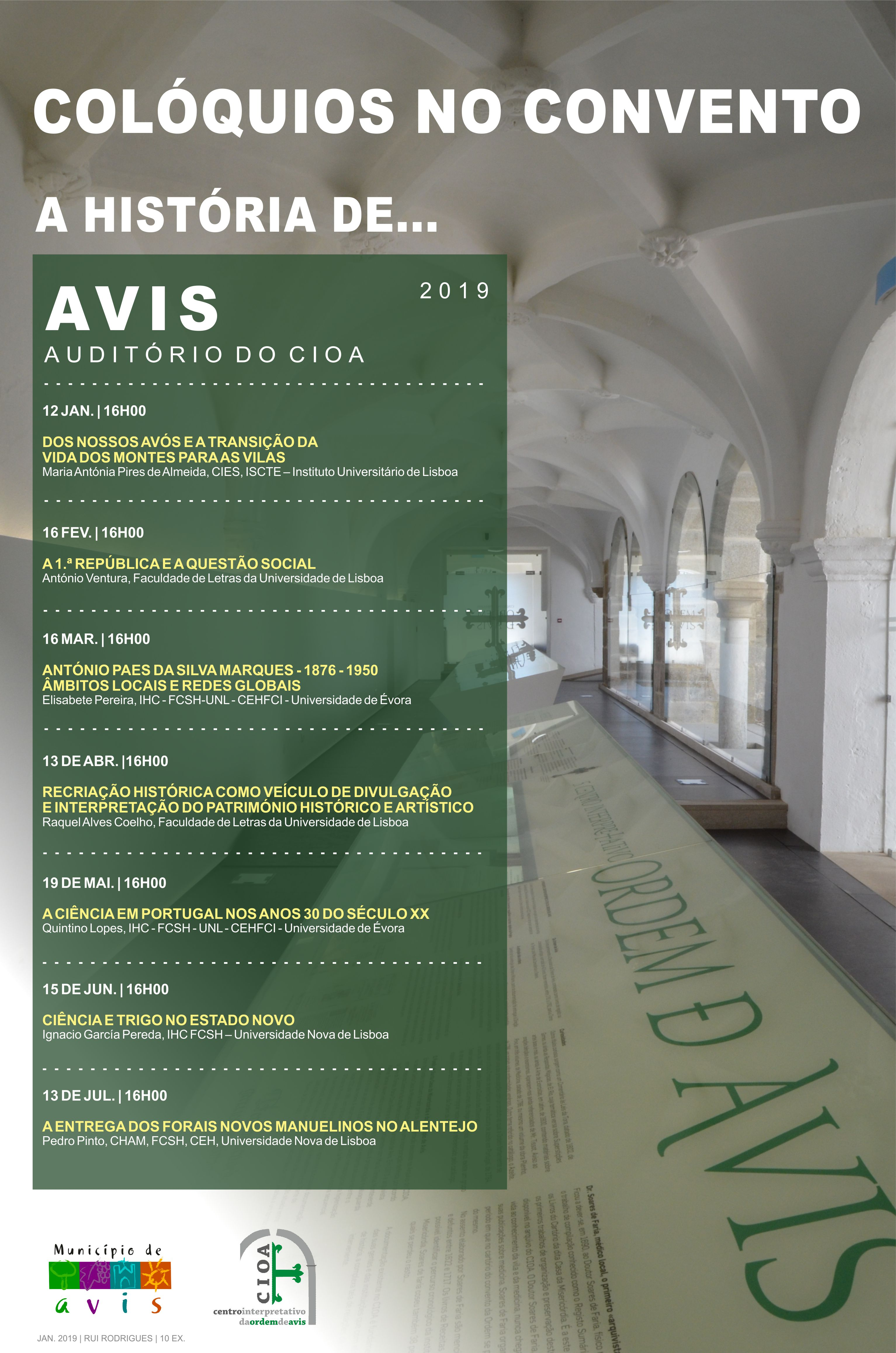 ... debater temas de interesse de diversos públicos naquele que é um dos  edifícios mais emblemáticos do Centro Histórico de Avis  o Convento de S.  Bento. ee8f22ea490ae